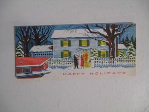 1959 Buick Jul- & Nyårskort
