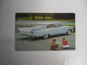 1959 Buick Invicta 4639 4dr HT Vykort