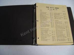 1960 Buick parts and accesory bulletins