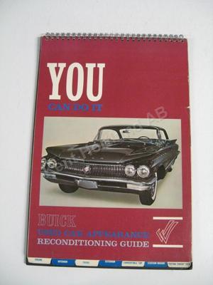 1960 Buick Rekonditionerings-guide