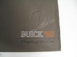 1960 Buick Portfolio