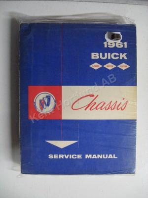 1961 Buick Invicta, Lesabre, Electra Chassis Service Manual
