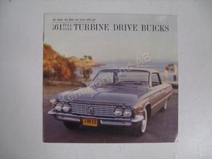 1961 Buick Full Size broschyr