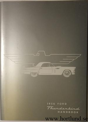 1956 Ford Thunderbird Owner's Manual