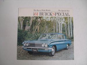 1961 Buick Special Size Brochure