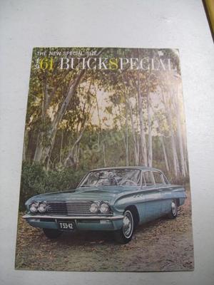 1961 Buick Special Size Lyxbroschyr