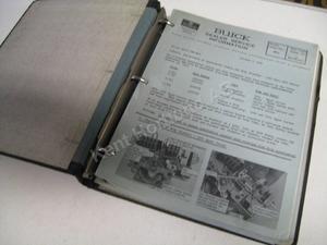 1962 Buick Dealer service information