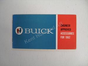 1962 Buick Accessories alla modeller tillbehör