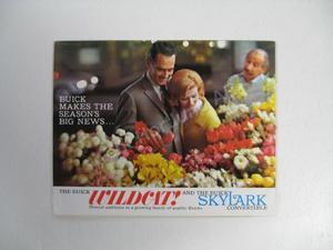 1962 Buick Wildcat and Skylark Convertible Folder Brochure