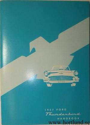 1957 Ford Thunderbird Owner's Manual