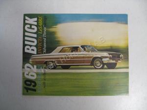 1962 Buick full size Försäljningsbroschyr