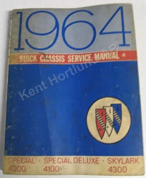 1964 Buick mid size Chassis Service Manual