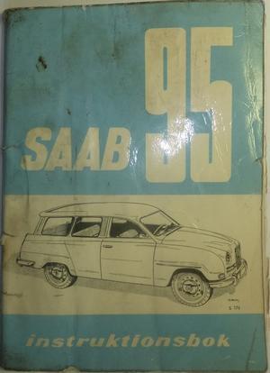 1963 SAAB 95 B Instruktionsbok