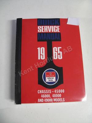 1965 Buick 45000, 46000, 480000 and 49000 Chassis Service Manual