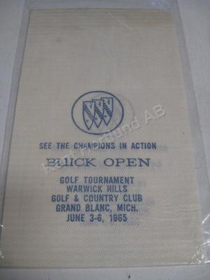 1965 Buick Open reklam