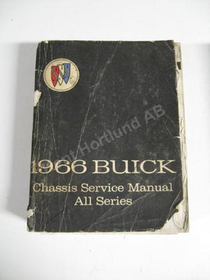 1966 Buick Chassis service manual