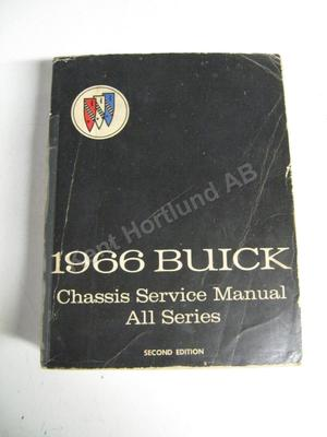 1966 Buick Chassis Service Manual Second Edition