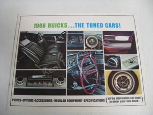 1966 Buick broschyr över tillbehör