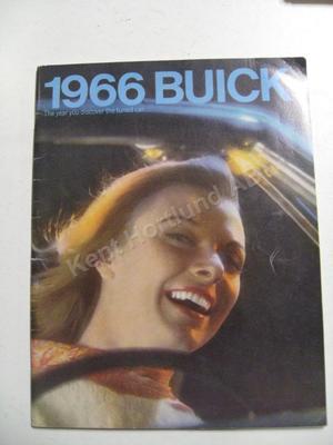 1966 Buick Lyx broschyr