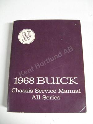 1968 Buick Chassis Service Manual