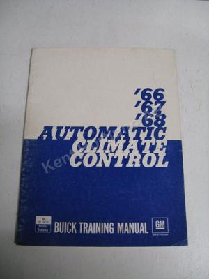 1966-68 Buick Automatic Climate Control Training Manual