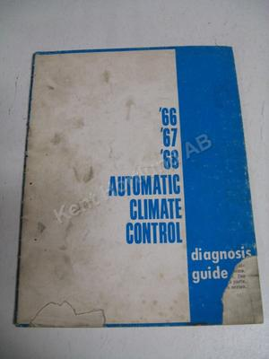 1966-68 Buick Automatic Climate Control Diagnosis guide
