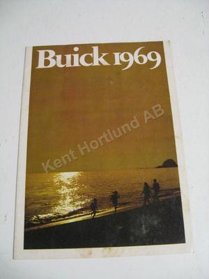 1969 Buick Försäljningsbroschyr