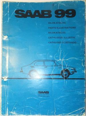 1969 - 1972 SAAB 99 Bildkatalog