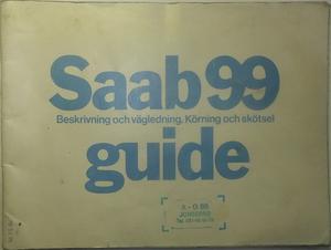 1976 SAAB 99 Guide 1:sta utg.