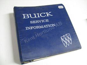 1969 Buick Service information
