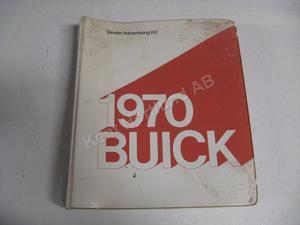 1970 Buick Dealer Advertising Kit