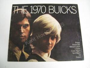 1970 Buick Lyxbroschyr