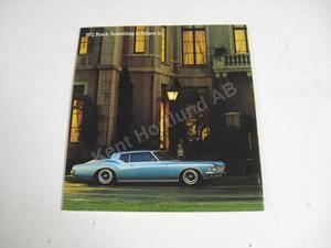 1972 Buick Försäljningsbroschyr