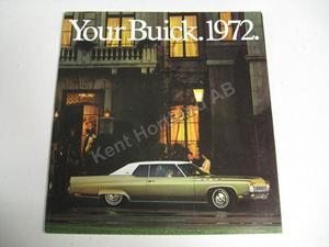 1972 Buick Lyx Broschyr