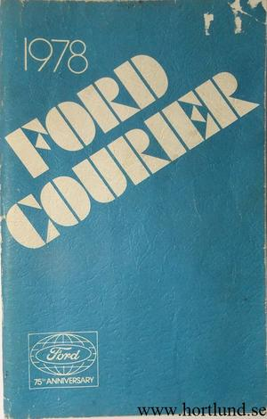 1978 Ford Courier Owners Manual