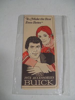 1973 Buick Accessories broschyr