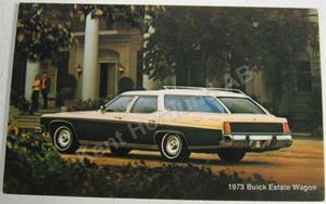 1973 Buick Estate Wagon Vykort