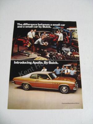 1973 Buick Apollo Försäljningsbroschyr