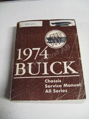 1974 Buick Chassis Service Manual