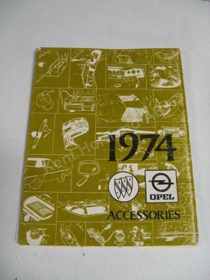 1974 Buick - Opel accessories