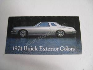 1974 Buick Exterior Colors