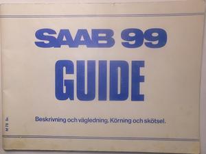 1978 SAAB 99 Guide 1:sta utg.