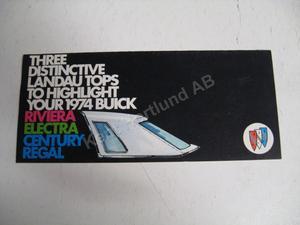 1974 Buick Försäljningsbroschyr