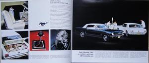 1965 Ford alla USA modeller broschyr svensk