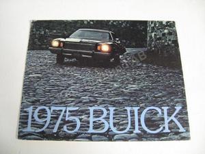 1975 Buick Försäljningsbroschyr