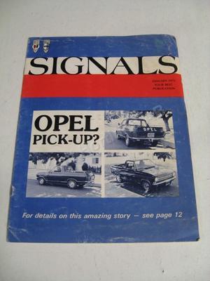 1975 Buick-Opel Signals januari 1975
