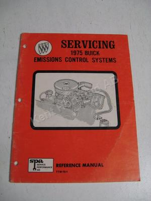 1975 Buick Reference manual