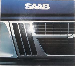 1982 SAAB Turbo 900 900S broschyr