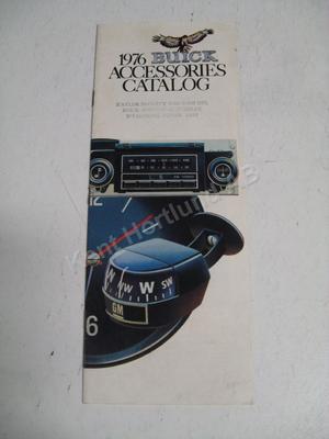1976 Buick Försäljningsbroschyr
