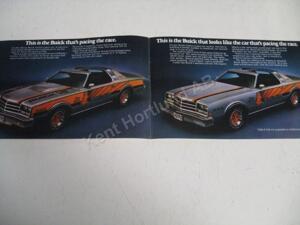 1976 Buick Century Pace car Försäljningsbroschyr